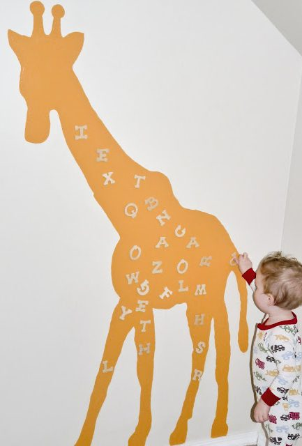 Tutorial: Magnetic Wall Giraffe