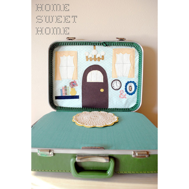 Retro Toy Love: Suitcase Dollhouse - Modern Parents Messy Kids