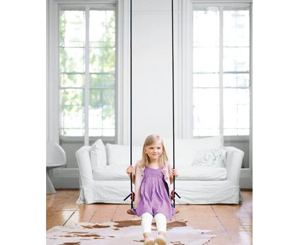Install an Indoor Swing, Instill Self-Confidence