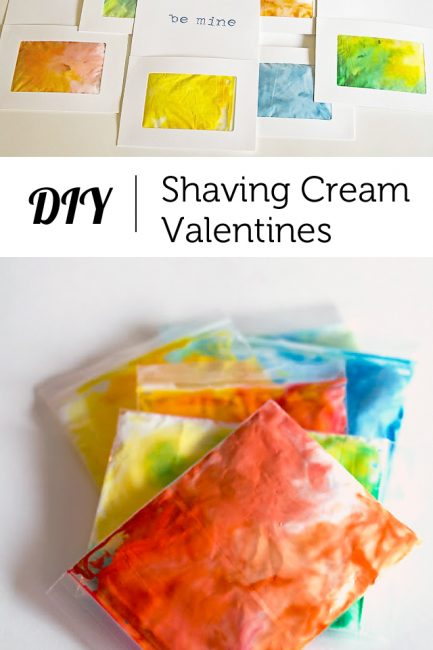 Tutorial: Shaving Cream Valentine