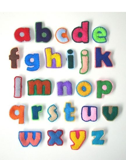 Magnetic Fabric Letters / Magnetic Wall Giraffe Take 2