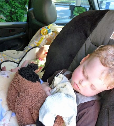 """Why You Really Do Need to """"Squish"""" Your Toddler Into a Rear-Facing Car Seat"""