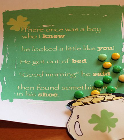 Free Printable: St. Paddy's Day Limerick Hunt
