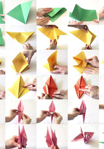 Paper Crane Tutorial to Help Your Children & Those in Japan