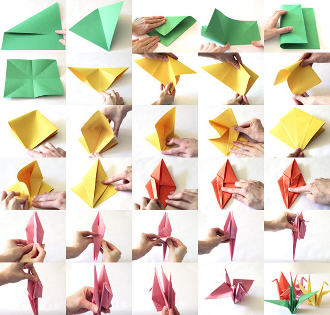 Paper Crane Tutorial to Help Your Children & Those in ... - photo#4