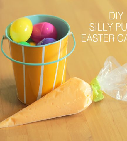 DIY Silly Putty Carrot + An Easter Recap