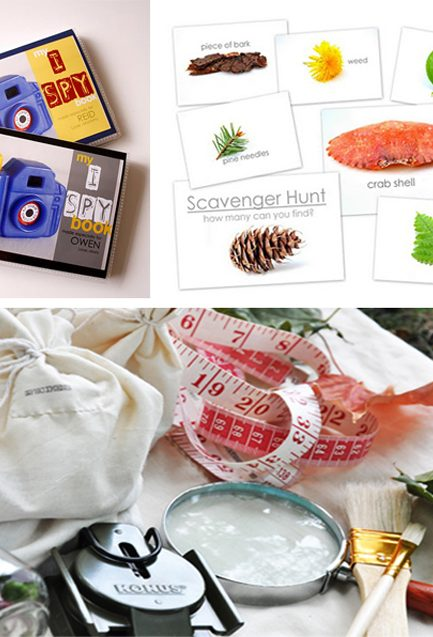 DIY Scavenger Hunts and I Spy Games