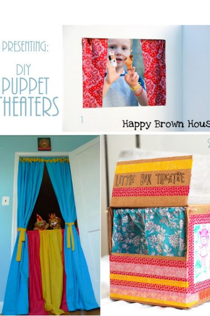 DIY Puppet Theaters & the Benefits of Puppet Play