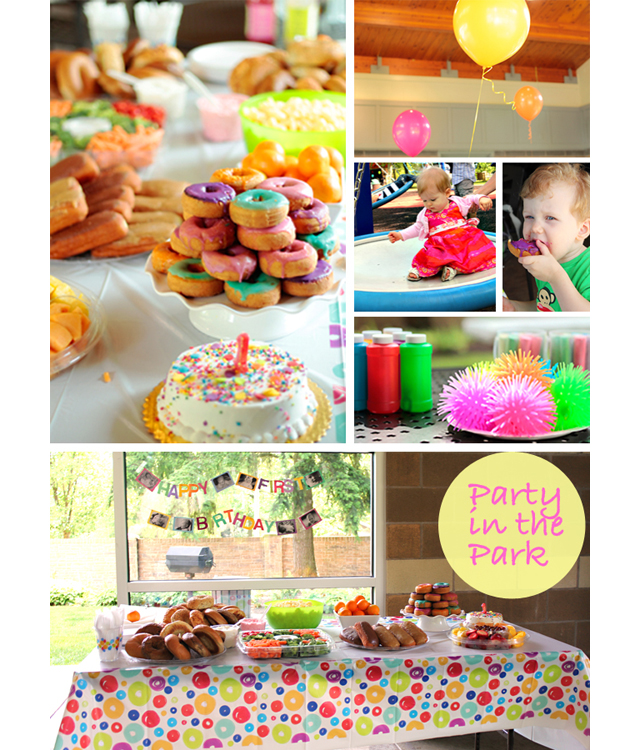 A Colorful Cheap First Birthday Bash Modern Parents Messy Kids