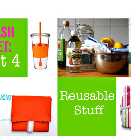 Trash Diet: Part 4 – Reusable Stuff