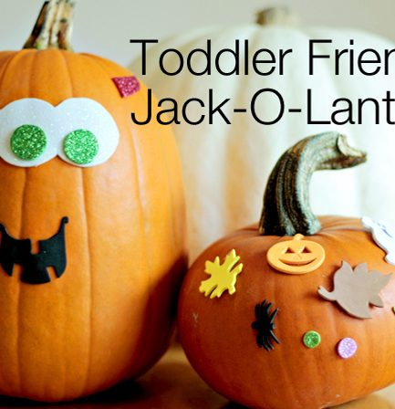Handmade Halloween: Mess-Free Pumpkin Decorating