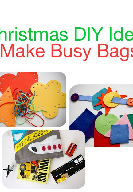 Christmas Gift Idea: Busy Bags (Great for Advent, Stockings, or Under the Tree)