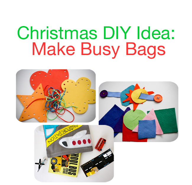 Christmas Gift Ideas For Parents From Preschoolers.Christmas Gift Idea Busy Bags Great For Advent Stockings