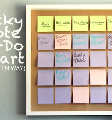 DIY Reusable To-Do List