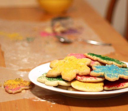 Making Less-Mess Cookies for Santa