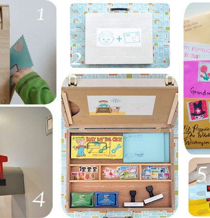 Christmas Gift Idea: DIY Playtime Mail Center