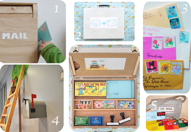 Christmas Gift Idea: DIY Playtime Mail Center - Modern