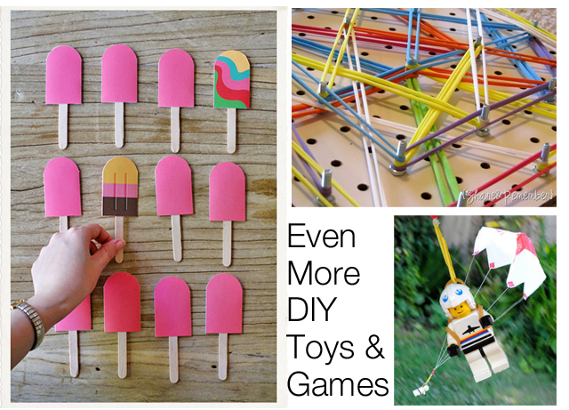 Homemade Toys Part Iii Modern Parents Messy Kids