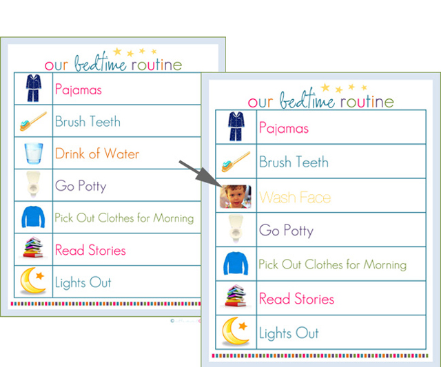 graphic about Children's Routine Charts Free Printable known as We Experimented with It! - Program Charts - Innovative Dad and mom Messy Small children