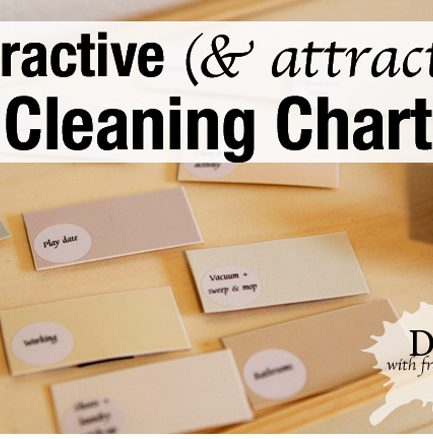 Project Organize Your ENTIRE Life: DIY Cleaning Chart
