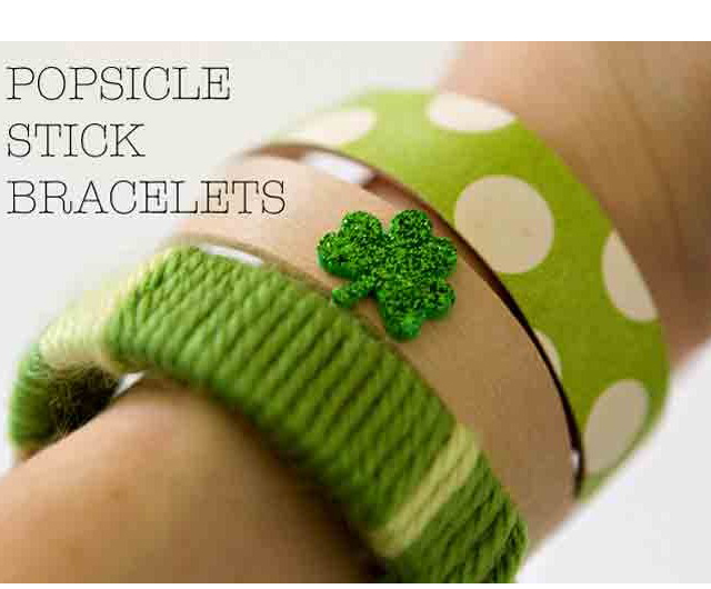 An easy and fun way to make sure kids wear their green on St. Paddy's Day
