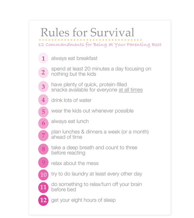 Rules for being more mindful with your kids