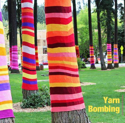 Yarn Bombing!