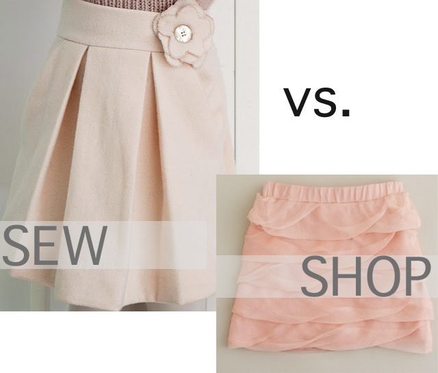Easter Style: Sew vs. Shop