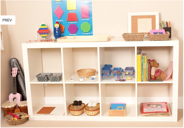Stylish and Stimulating Storage for Kids