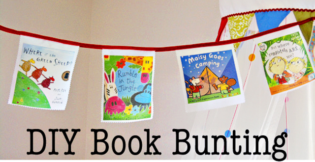 Book Week: DIY Bunting