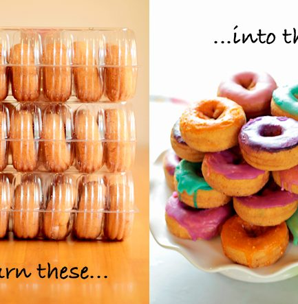 Party DIY: Make Custom Colored Donuts