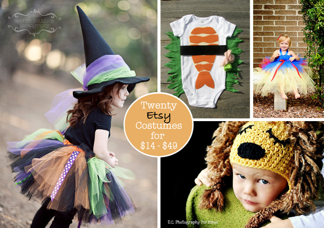 I know itu0027s a little early for Halloween but when talking costumes it never hurts to get ahead of the crowd. I absolutely love the look of handmade ...  sc 1 st  Modern Parents Messy Kids & Handmade Halloween: Etsy Costume Roundup - Modern Parents Messy Kids