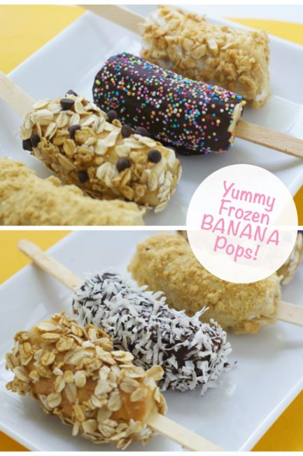 Frozen Banana Pops, an Easy Summer Treat