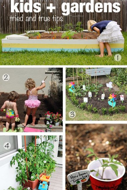Natural Play Spaces: Children's Veggie Gardens