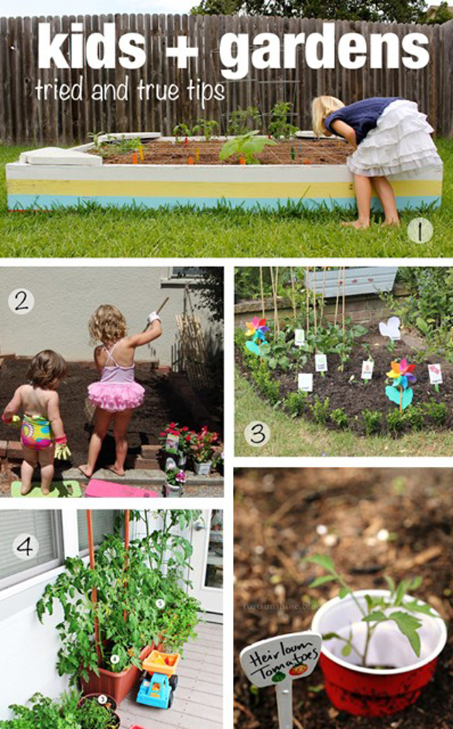 Charming Natural Play Spaces: Childrenu0027s Veggie Gardens