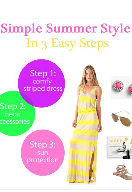 What to Wear: Simple Summer Style