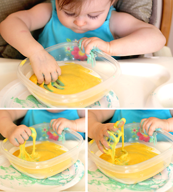 Homemade Finger Paint Without Food Coloring