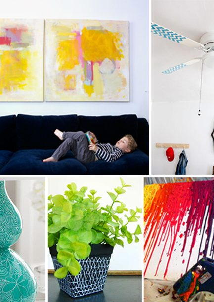 5 Easy Ways to Spice up Your Space with Paint
