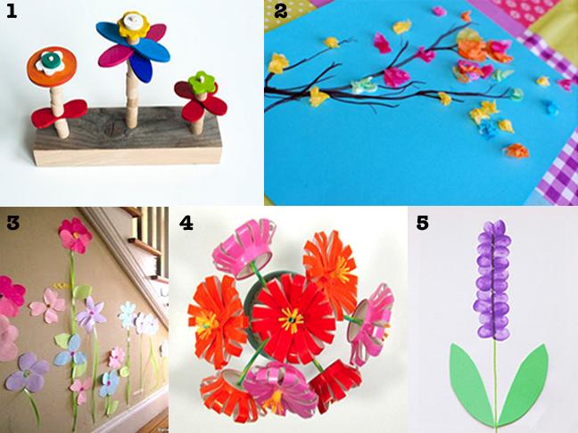 Welcoming Spring Flower Crafts Modern Parents Messy Kids