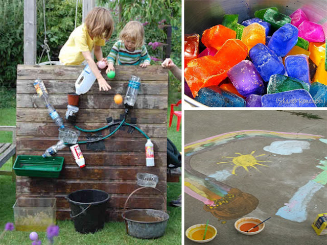 Outdoor Kid Activities & DIYs for the 4th of July