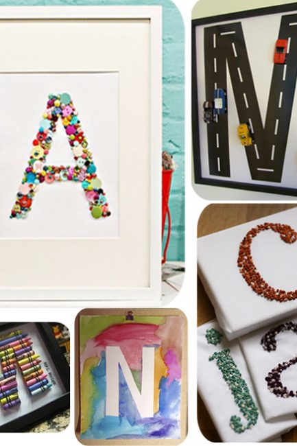DIY Decor: Modern Monograms