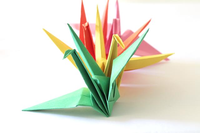 Image result for paper cranes