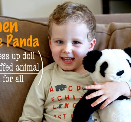 Giveaway: Shen the Panda or Zylie the Bear (aka your child's new best friend)