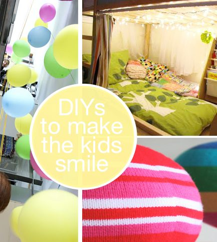 DIY Projects Just to Make the Kids Smile