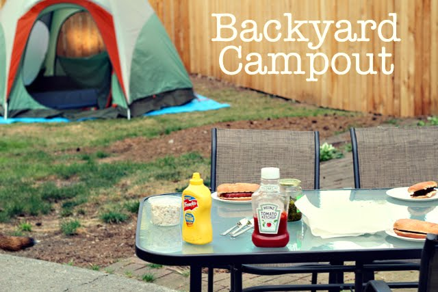 Camping In The Backyard With Toddlers :  to camping activity for toddlers (and fun for big kids too
