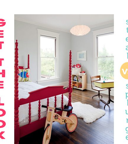 Get the Look: Simple Kid's Room