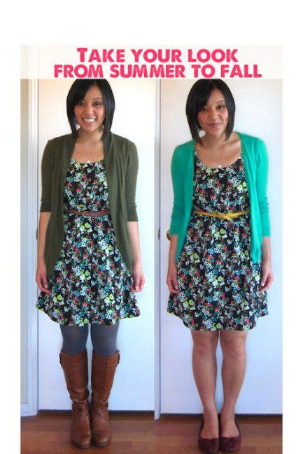 Bringing Your Summer Wardrobe Into Fall