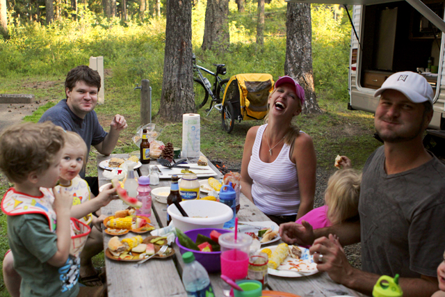 The Many Benefits of Family Camping