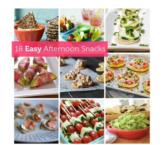 Tons of healthy snacks for the family.