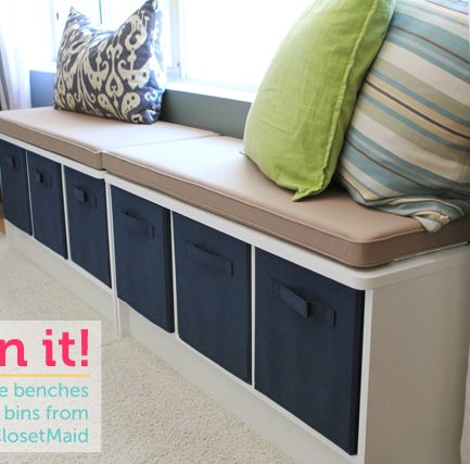 Giveaway: Storage Furniture from ClosetMaid